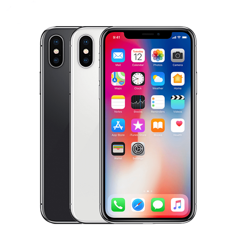 Original Unlocked Used Apple iPhone X 4G LTE