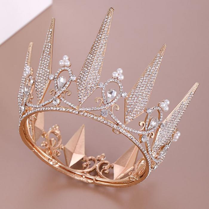 Crystal Wedding Tiara Crown