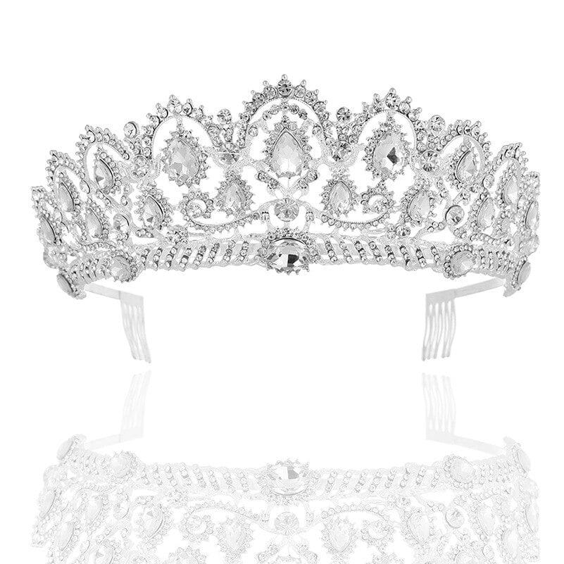 Vintage Queen Crystal Tiara
