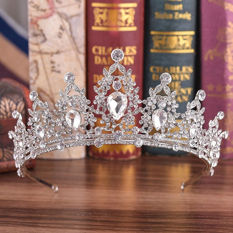 Trendy Handmade Tiara Bridal Crown
