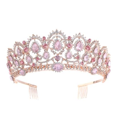 Vintage Queen Crystal Tiara