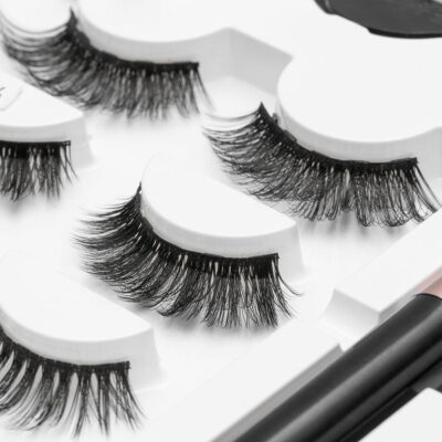 Natural Long Magnetic False Eyelashes