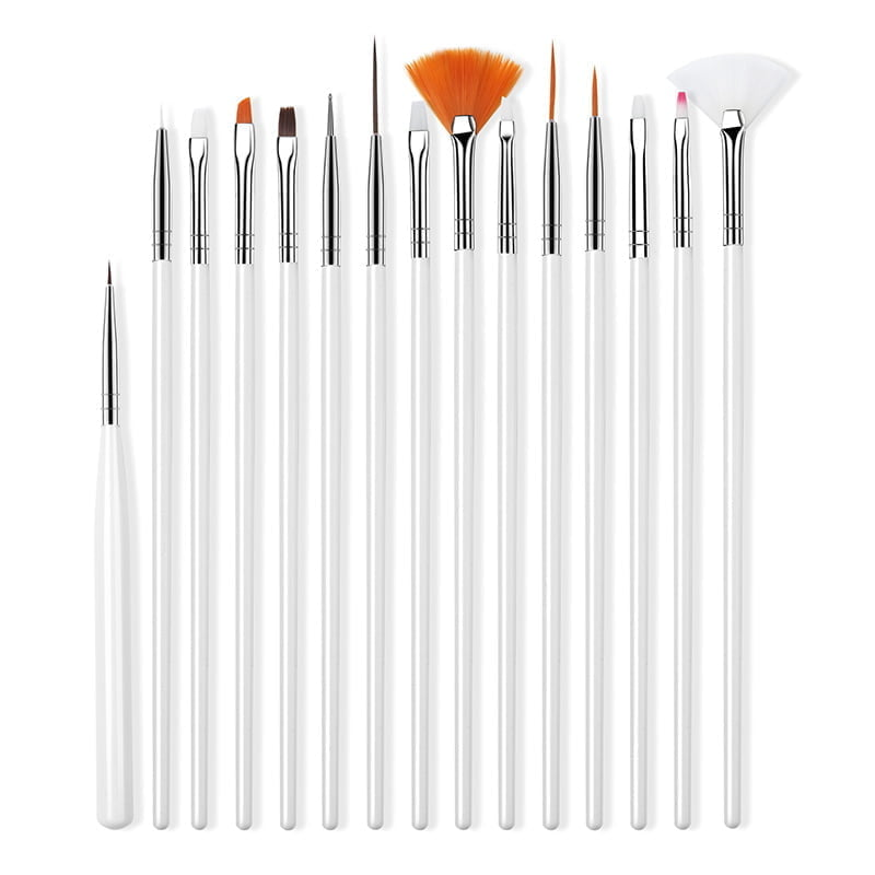 Nail Brush For Manicure White