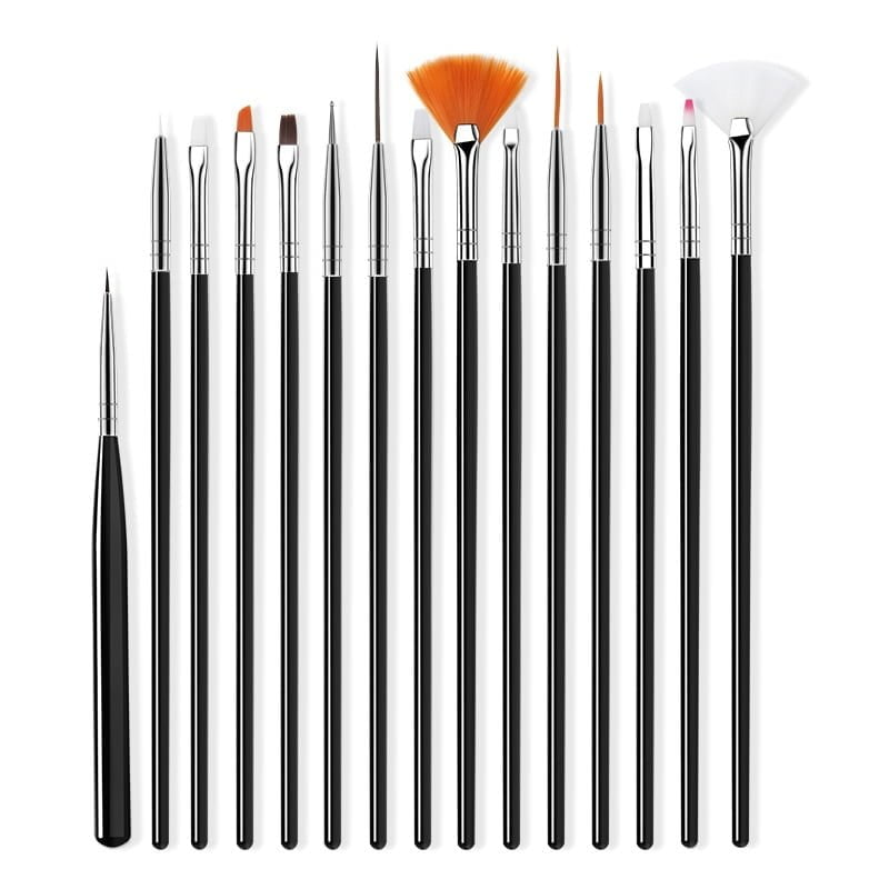 Nail Brush For Manicure Black