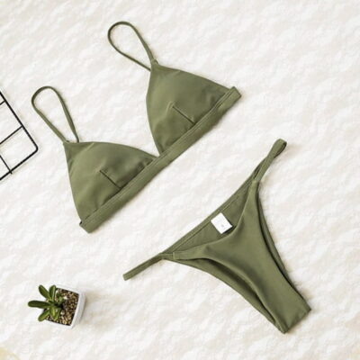 Women Micro Push Up Bikini set