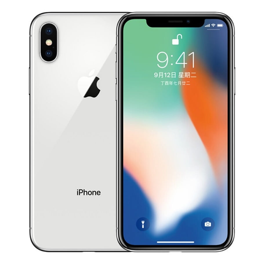 Original Unlocked Used Apple iPhone X 4G LTE