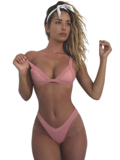 Padded Women Push Up Bikini Set