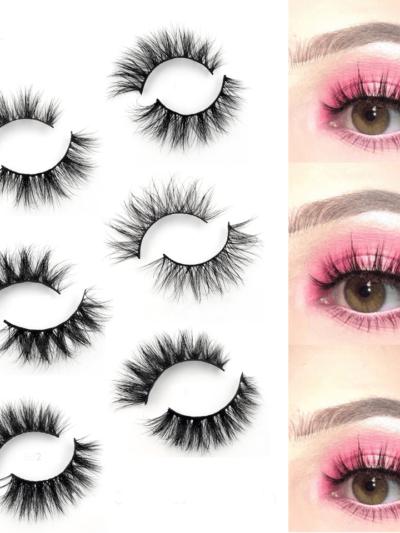 3D Mink Reusable Natural False Eyelashes