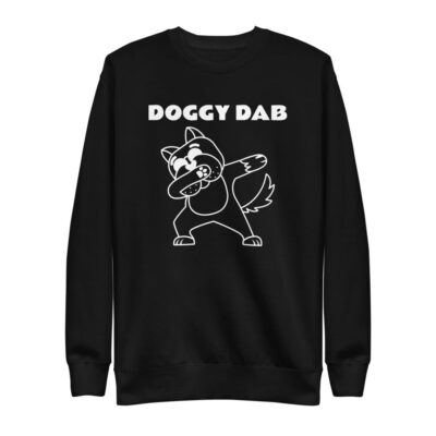 Warm Doggy DAB Unisex Fleece Pullover