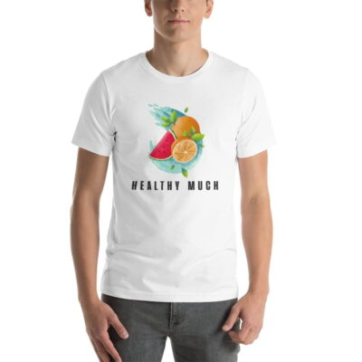 Vintage Flex Healthy Much Short-Sleeve Unisex T-Shirt